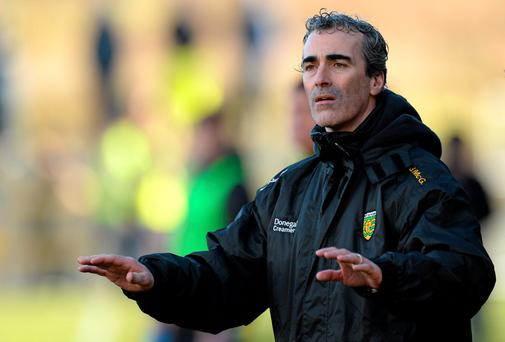Donegal manager Jim McGuinness hits the balance between control and empowerment