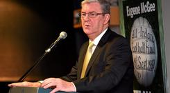 Eugene McGee is an All-Ireland-winning football manager and former managing editor of 'The Longford Leader'