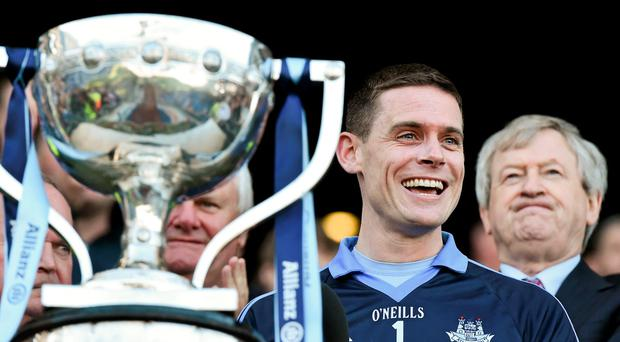 Dublin captain Stephen Cluxton