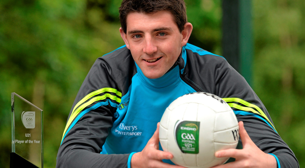 Tipperary's Colin O'Riordan, named EirGrid U-21 Footballer of the Year, is looking forward to the clash with Kerry