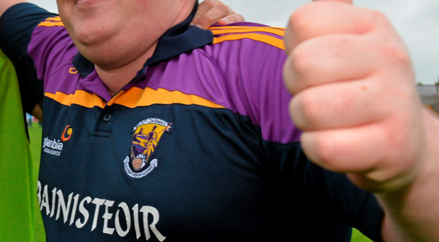 Wexford Manager David Power