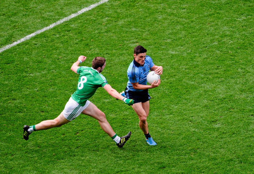 Diarmuid Connolly scored two superb points during Dublin's victory against Fermanagh
