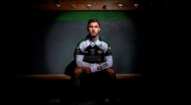 Kerry's James O'Donoghue in his Legion colours at the launch of the AIB club championship's #TheToughest campaign