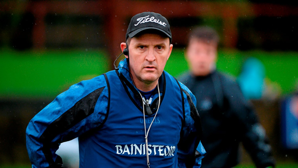 Ballyboden manager Andy McEntee