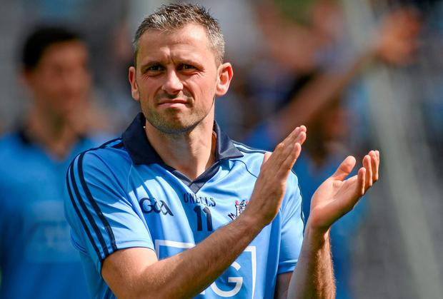 Dublin's Alan Brogan has called time on his Dublin career