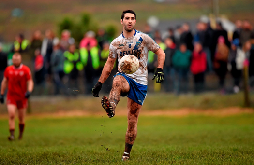 'Bryan Sheehan produced a powerful display against Waterville on St Stephen's day, scoring three points' Photo:Sportsfile