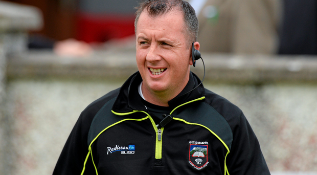 Sligo boss Niall Carew (Photo: Sportsfile)