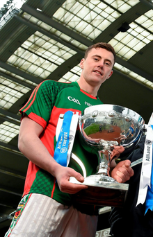 Mayo's Diarmuid O'Connor is keen to get back from a hamstring injury (SPORTSFILE)