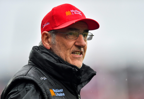 Tyrone manager Mickey Harte (SPORTSFILE)