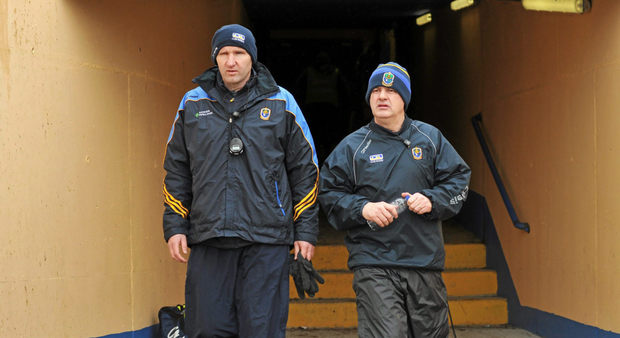 Joint managers Fergal O'Donnell and Kevin McStay have been central to the upturn in Roscommon fortunes (SPORTSFILE)