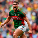 Mayo's Aidan O'Shea in action. Picture: Sportsfile