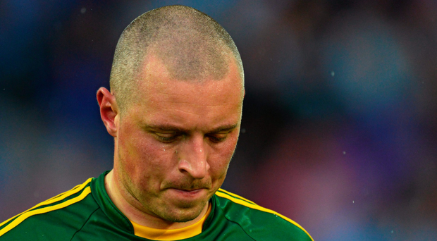 Kieran Donaghy shows his disappointment after last year's All-Ireland final defeat to Dublin Photo: Sportsfile