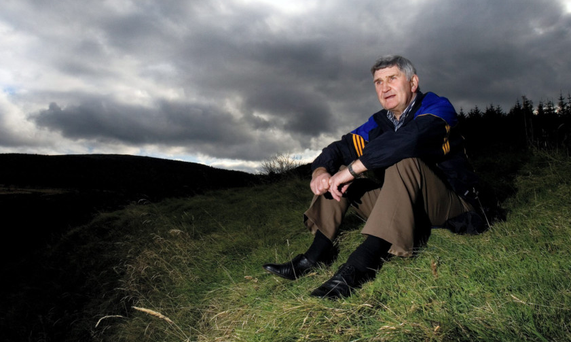 O'Dwyer poses in the hills of Wicklow during his time with the Garden County Picture: David Conachy