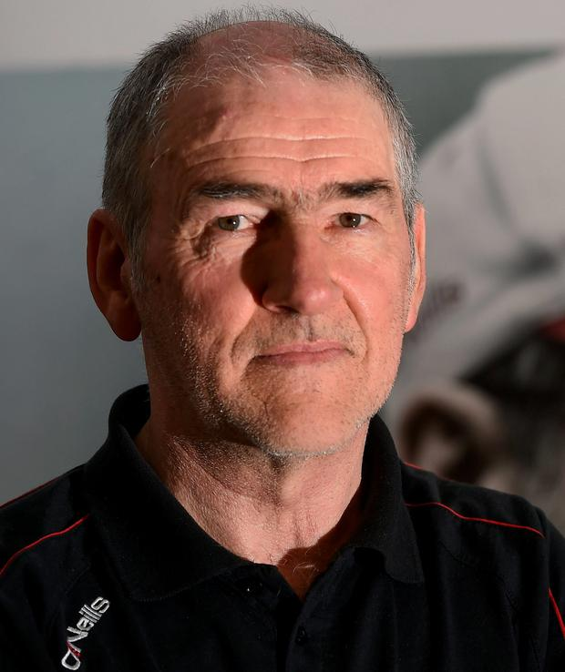 Pundit and ex-footballer Mickey Harte Photo: Sportsfile