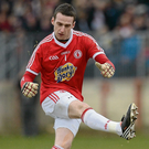Tyrone goalkeeper Niall Morgan Photo: Sportsfile