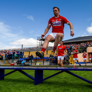 Cork skipper Paul Kerrigan. SPORTSFILE