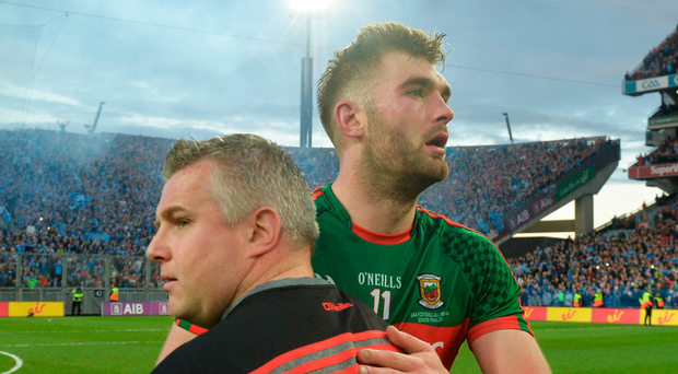 Aidan O'Shea has been left out of the Mayo team for Sunday's match against Sligo