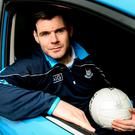 Kevin McManamon at Parnell Park yesterday for the announcement that Subaru is to be Dublin GAA's official car partner. Sam Barnes/Sportsfile