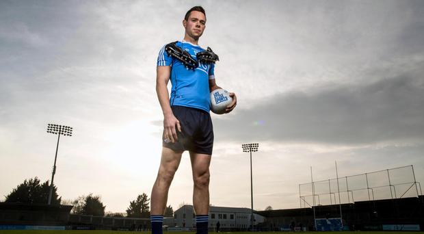 Dean Rock in Parnell Park yesterday to help Life Style Sports launch the new PUMA Evo Touch Pro football boot Picture: INPHO/Morgan Treacy