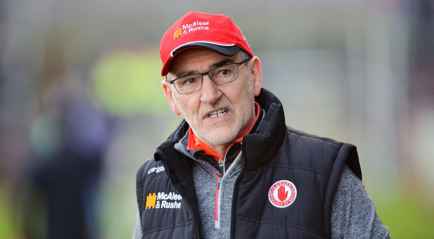 Mickey Harte. Photo: Sportsfile