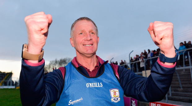 Galway U-21 manager Gerry Fahy. Photo: Sportsfile