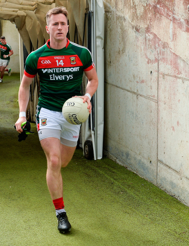 Cillian O'Connor featured in all of Mayo's 20 games last year but came out of that run unscathed. Photo: Sportsfile