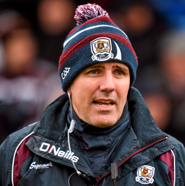 Galway manager Kevin Walsh. Photo: Sportsfile