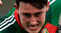 Mayo's Liam Irwin. Photo: Sportsfile