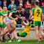 Aidan O'Shea and Donegal will lock horns again on Sunday Photo: Sportsfile