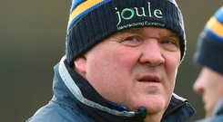 Wicklow manager John Evans. Photo: Sportsfile
