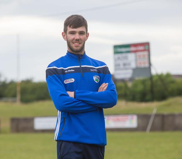 Danny O'Reilly: 'I've turned a corner now. I'm doing some ball work with minimal contact, weaving and glancing'. Photo: Pat Moore