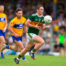 Stephen O'Brien and his fellow Kerry attackers can make hay by running at the Cork defence this evening Photo: Sportsfile