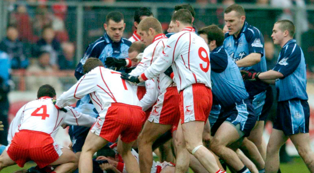 Tyrone-Dubs a volcanic rivalry ready to explode