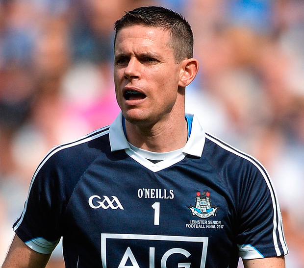 Cluxton will equal Dublin's league and championship appearances record. Photo: Sportsfile