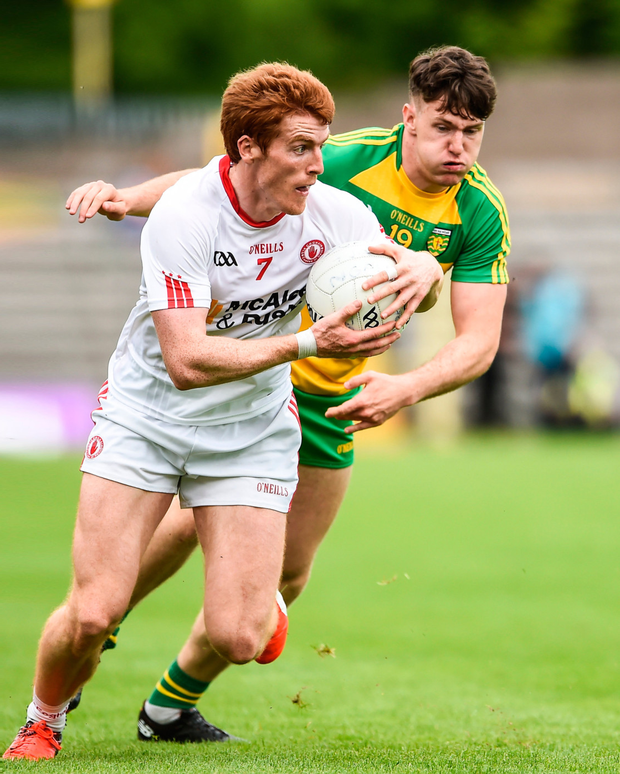 Peter Harte has come back into form at the right time for Tyrone. Photo: Oliver McVeigh/Sportsfile