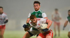 'On Wednesday night, Fermanagh and Tyrone duly played keep ball endlessly, with Fermanagh playing the ball back to their 'keeper 21 times. It was an appalling spectacle.' Photo: Sportsfile
