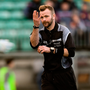Referee Anthony Nolan awards a free for four consecutive hand passes during the O'Byrne Cup clash between Carlow and Westmeath – the experimental rule is in danger of being shelved for the league on the back of opposition from managers. Photo: Sportsfile