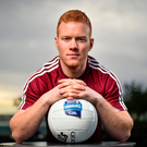 Declan Kyne at yesterday's Allianz football League event at the Loughrea Hotel. Photo: Seb Daly/Sportsfile