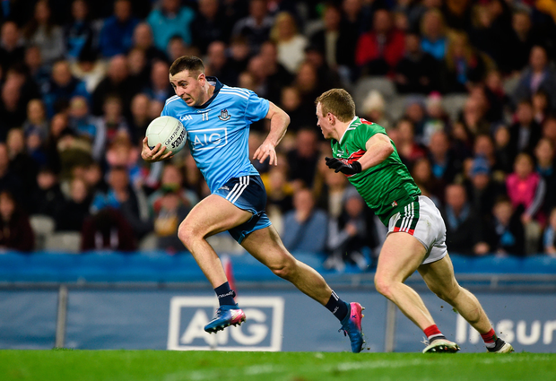 Previously a perennial sub, Cormac Costello has made a big play for a starting berth in Dublin's team. Photo: Sportsfile