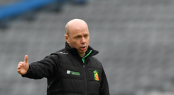 Peter Canavan: 'I never used my left foot until I was 13' Photo: Sportsfile