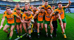 'Corofining results in Gaelic footballing perfection and it cannot — all things being equal — be beaten'. Photo: Piaras Ó Mídheach/Sportsfile