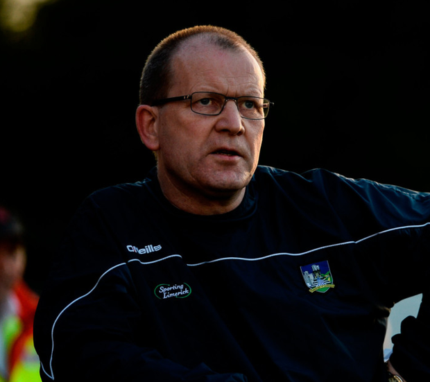 Limerick manager Billy Lee. Photo: Sportsfile