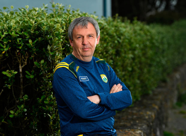 Growing pains: Peter Keane feels it will take time for Kerry's young guns to match the likes of Mayo and Dublin in the physicality stakes. Photo: Sportsfile