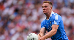 Pass master: Ciaran Kilkenny topped the charts when it came to passes completed last year, but says there's always aspects of his game to work on. Photo: Sportsfile