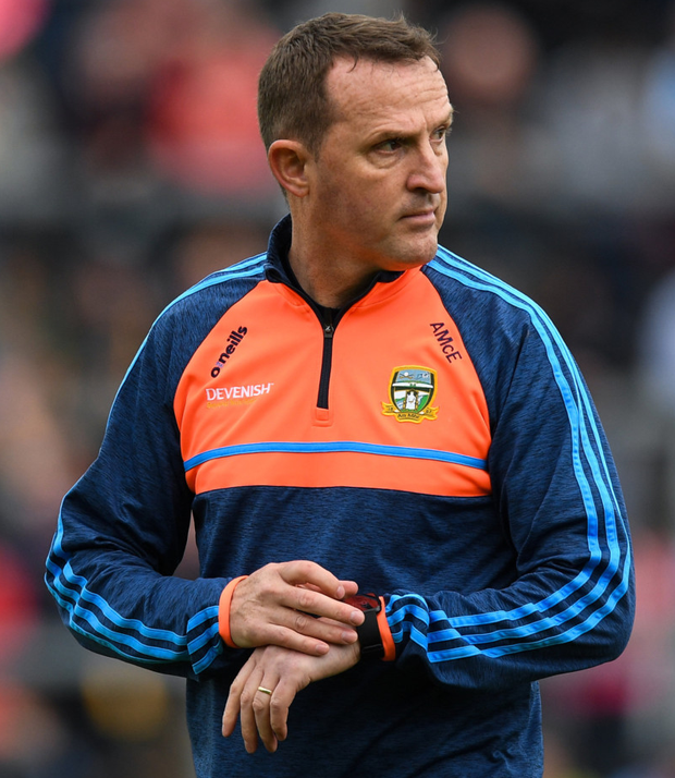 Expecting miracles from Andy McEntee will only get you so far. Photo: Sportsfile