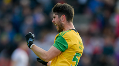 Ryan McHugh played a key role for Donegal last weekend alongside Paddy McBrearty and Michael Murphy. Photo: Daire Brennan/Sportsfile