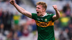 Will Kerry boss Peter Keane start Tommy Walsh in Sunday's decider? Photo: Sportsfile