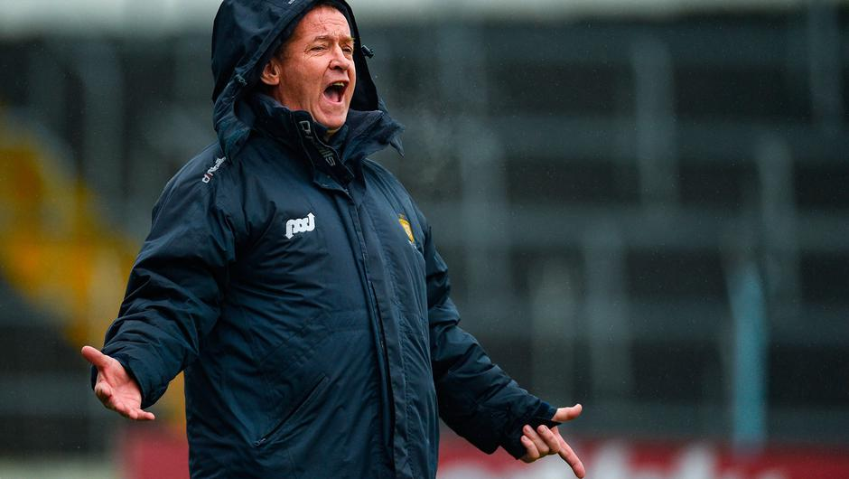 "Clare football manager Colm Collins: ""There will just be way more beatings and more teams will be playing at a level that they are not able to handle at this particular point."" Photo: Diarmuid Greene/Sportsfile"