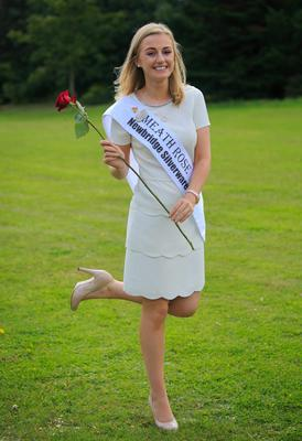 Meath Rose Elysha Brennan during the launch of the RTE Rose of Tralee, at RTE