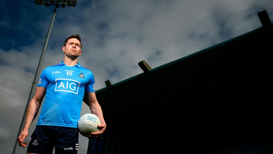 Dublin footballer Dean Rock supporting the roll-out of 'AIG BoxClever' insurance for young drivers. Photo: Stephen McCarthy/Sportsfile
